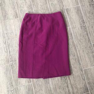 Halogen Fuschia Mini Pencil Skirt